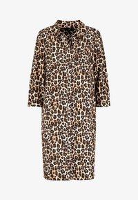 Next - NAVY ANIMAL SHIRT DRESS - Shirt dress - mottled brown - 3