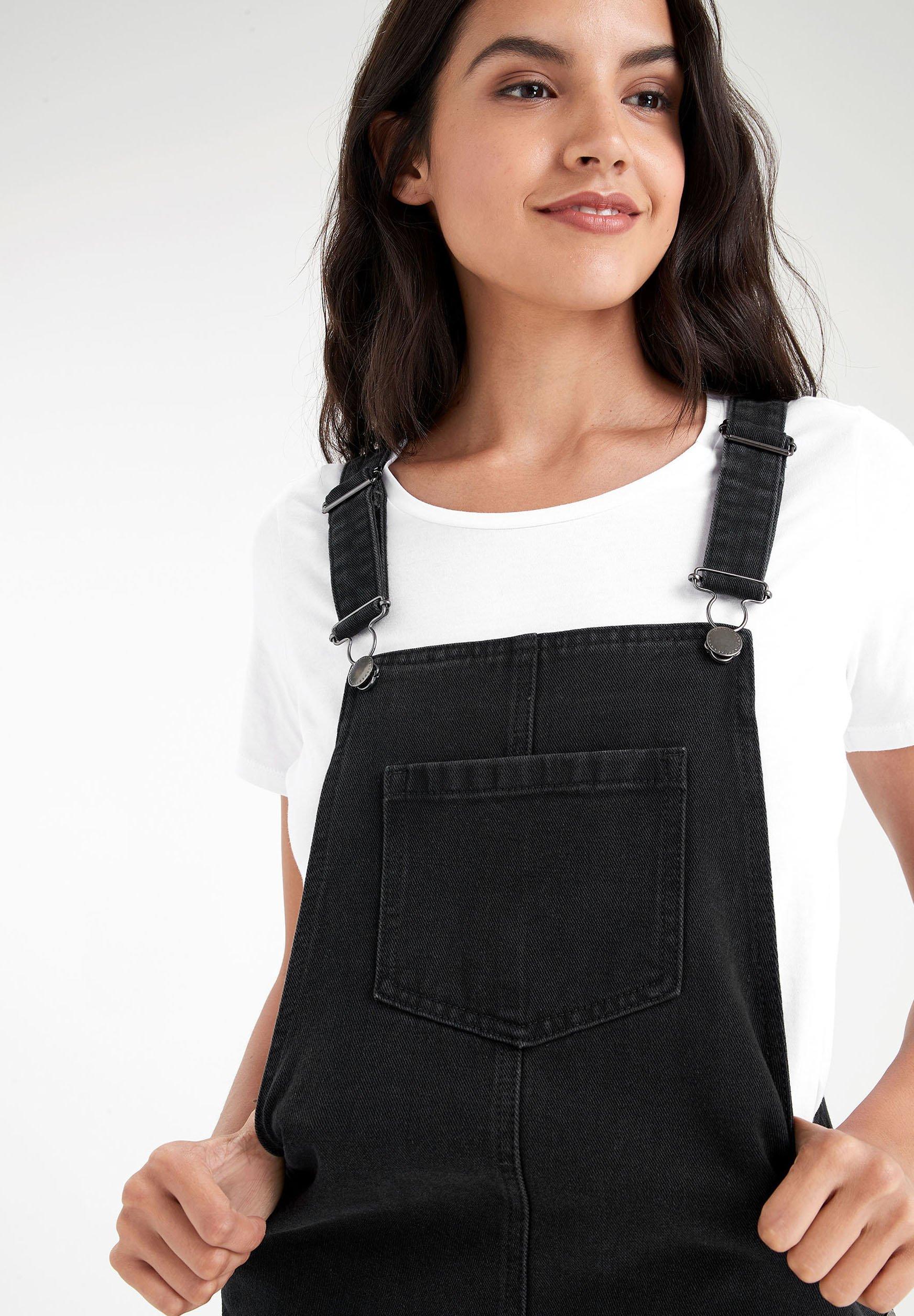 Next Vestito di jeans black