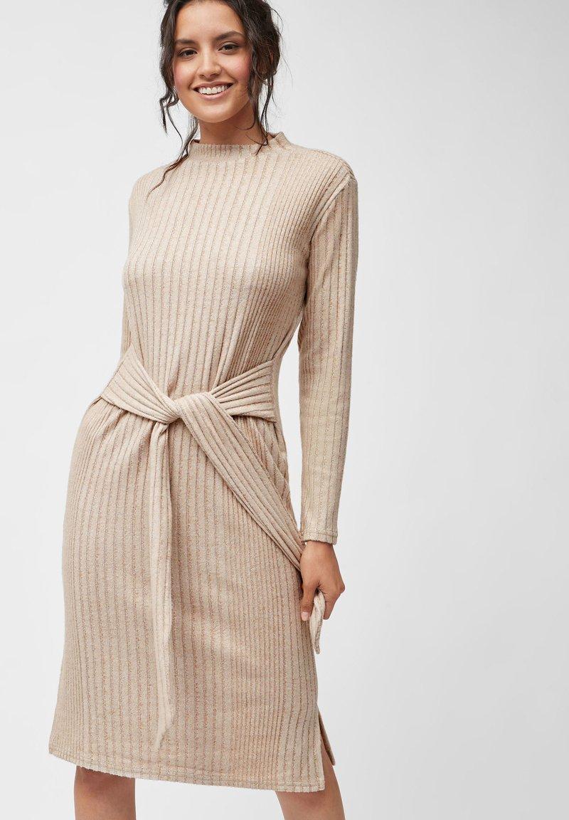 Next - COSY  - Jumper dress - beige