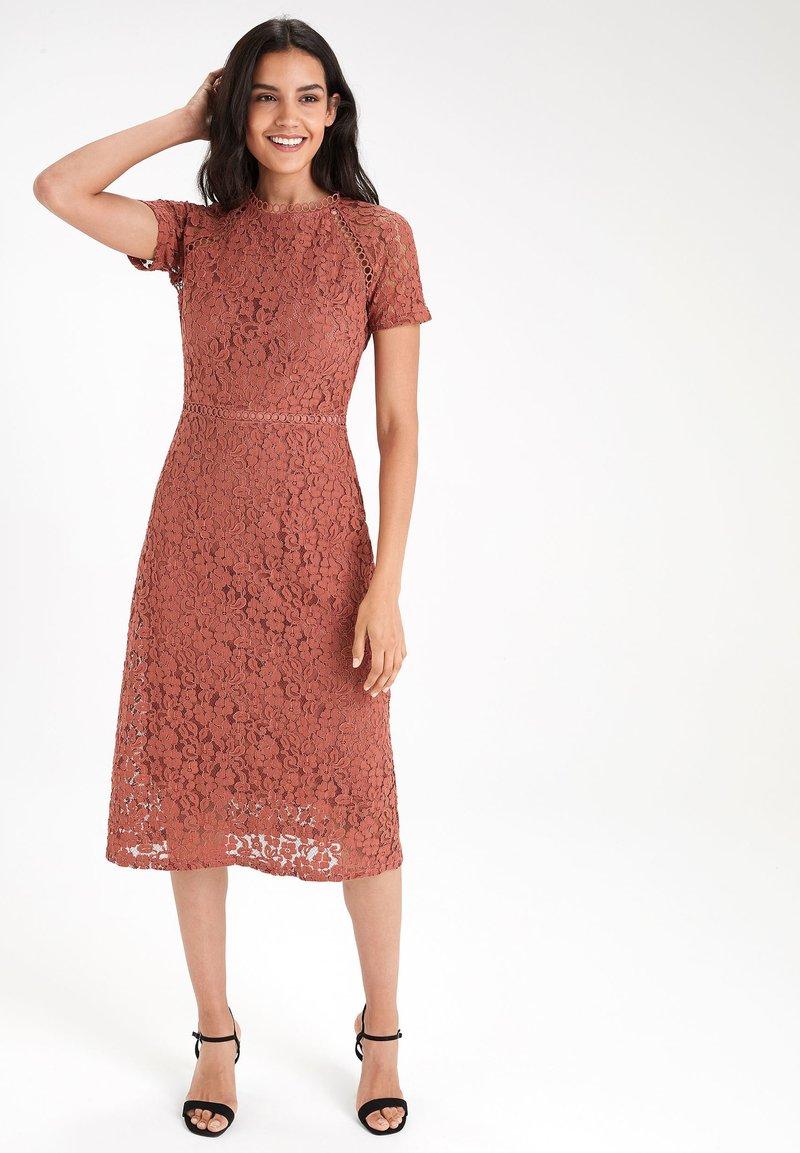 Next - Day dress - brown