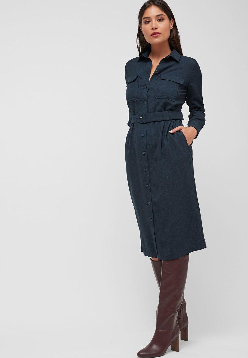 Next - BERRY - Shirt dress - blue
