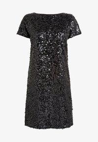 Next - NAVY SEQUIN T-SHIRT DRESS - Sukienka koktajlowa - black - 4