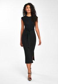 Next - BLACK TUBE DRESS - Shift dress - black - 1