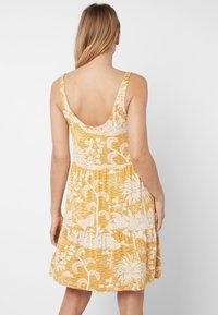 Next - Day dress - yellow - 1