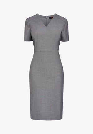 MINK SHARKSKIN TEXTURE DRESS - Shift dress - grey