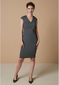 Next - Shift dress - grey - 1