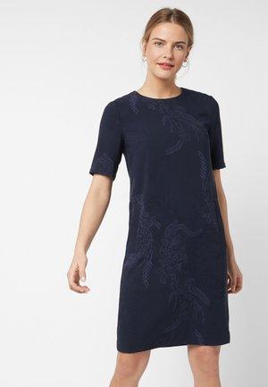 SHORT SLEEVE CREPE - Day dress - royal blue