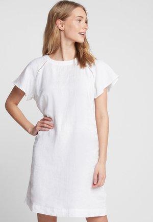 SHORT SLEEVE - Day dress - white