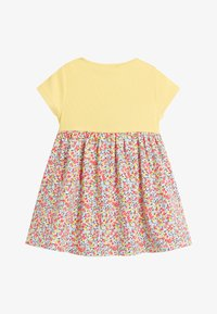 Next - YELLOW DITSY FLORAL PRINTED DRESS (0MTHS-2YRS) - Vestido informal - yellow - 1