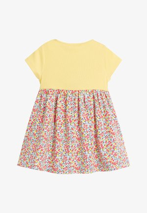 YELLOW DITSY FLORAL PRINTED DRESS (0MTHS-2YRS) - Hverdagskjoler - yellow
