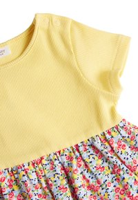 Next - YELLOW DITSY FLORAL PRINTED DRESS (0MTHS-2YRS) - Vestido informal - yellow - 2
