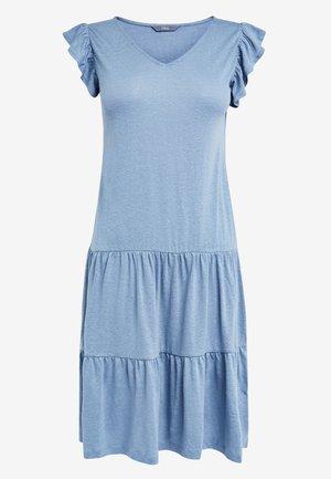 SLEEVE DRESS - Day dress - light blue