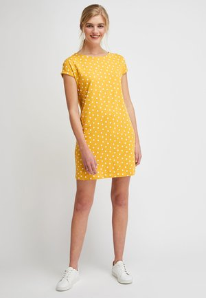 BOXY - Jersey dress - yellow