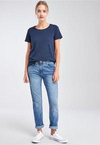 Next - Basic T-shirt - dark blue - 1