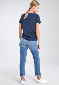 Next - Basic T-shirt - dark blue - 2