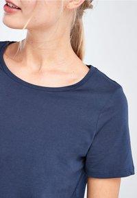 Next - Basic T-shirt - dark blue - 3
