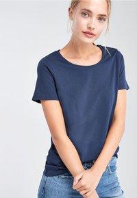Next - Basic T-shirt - dark blue - 0