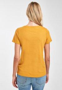 Next - Basic T-shirt - yellow - 1