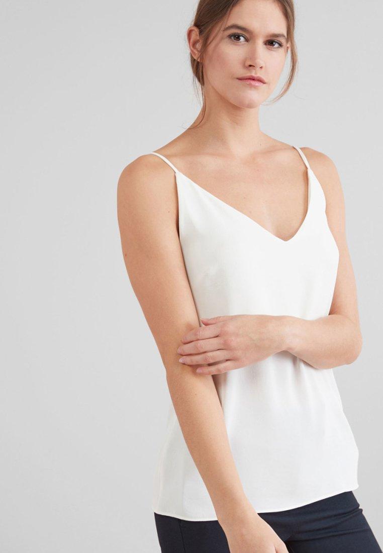 Next - WOVEN CAMI - Top - white