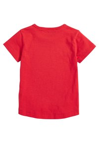 Next - FIVE PACK - T-shirt basic - red - 2