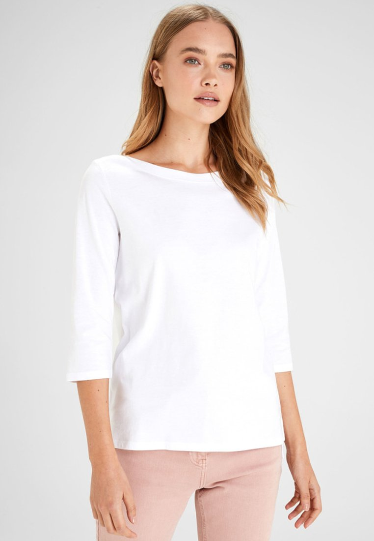 Next - Langarmshirt - white