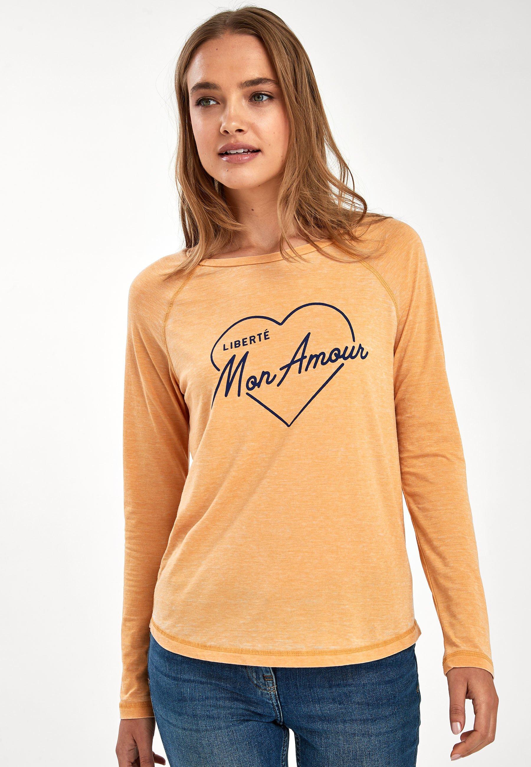 Next T-shirt à manches longues yellow