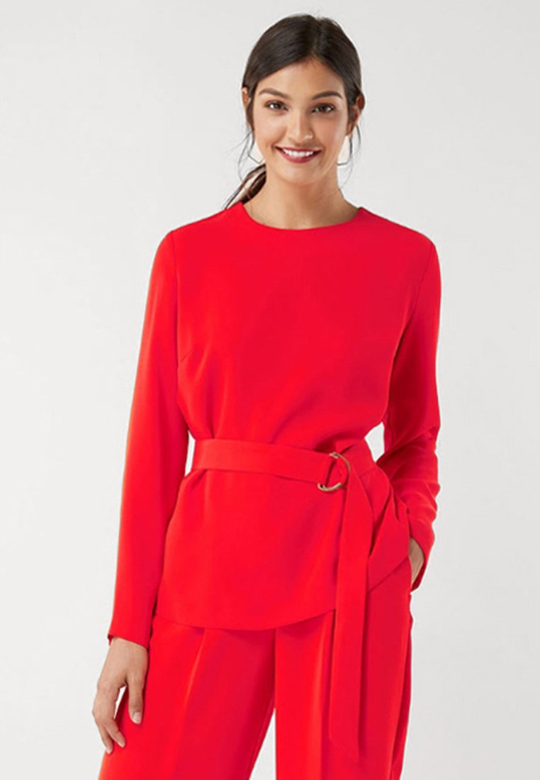 Next - Bluse - red