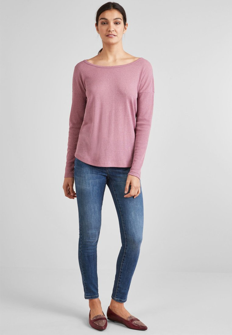Next - BOW BACK  - Long sleeved top - rose