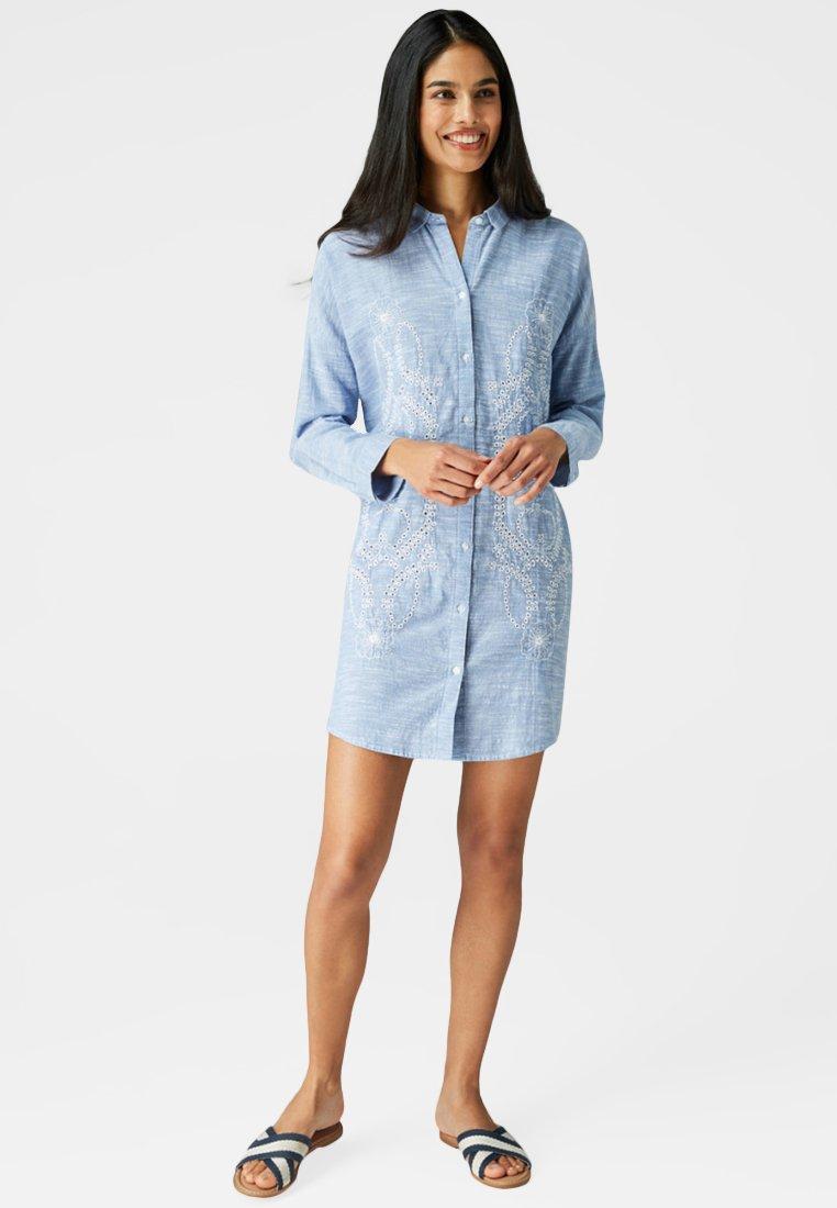 Next - Blusenkleid - blue