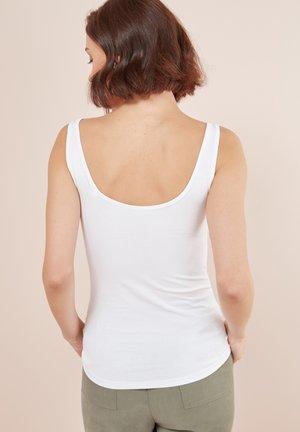 THICK STRAP VEST - Linne - white