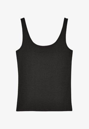 THICK STRAP VEST - Top - black
