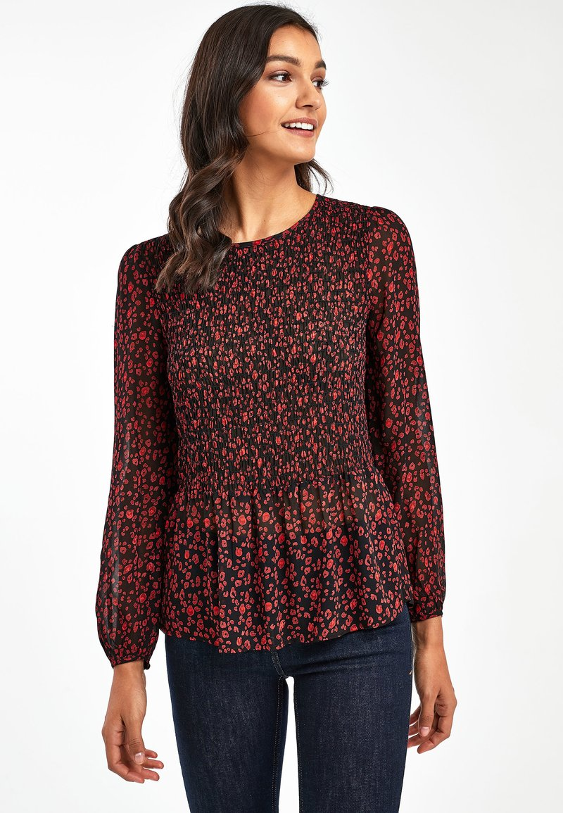 Next - Blouse - mottled black