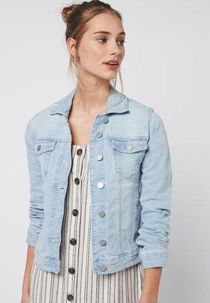 Denim jacket - mottled blue