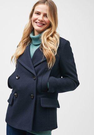 NAVY PEA COAT - Halflange jas - blue