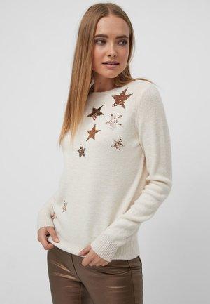 STAR  - Jumper - white