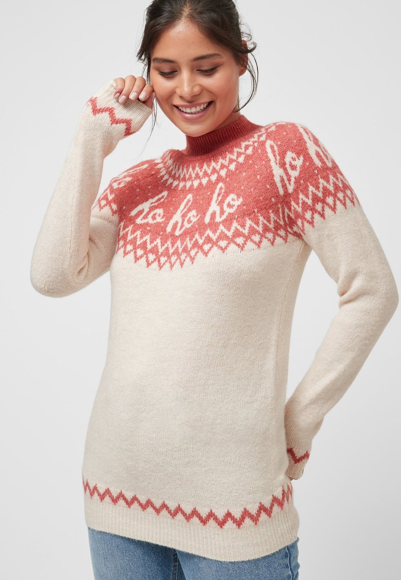 Next - CHRISTMAS  - Jumper - pink
