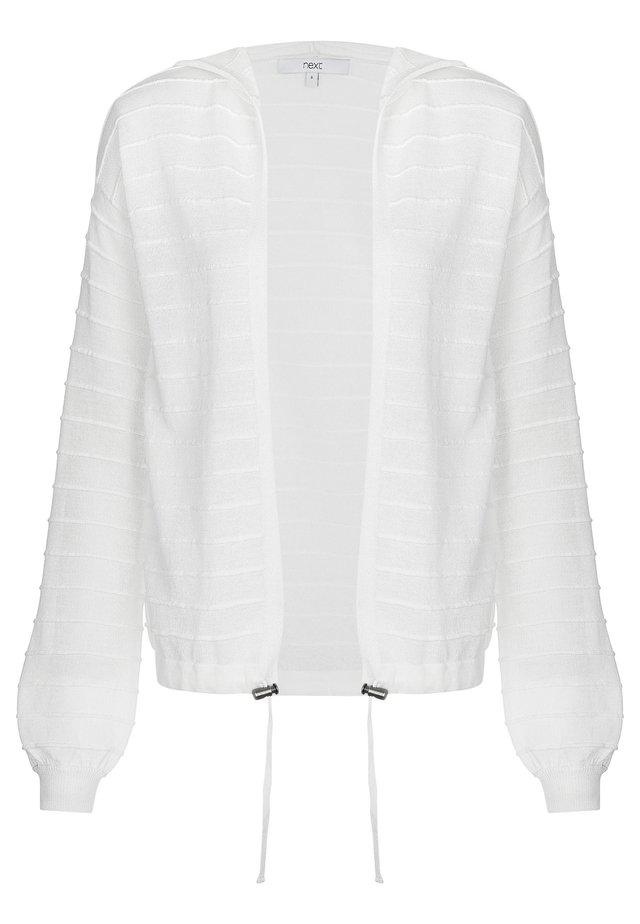 Strickjacke - white