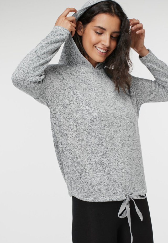 TOFFEE SUPERSOFT HOODY - Jersey con capucha - gray