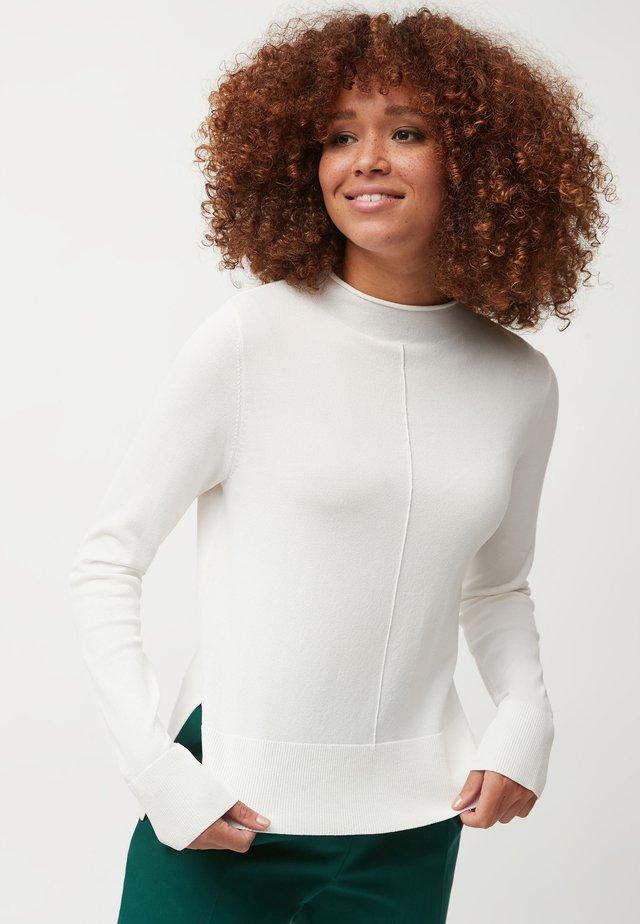 FUNNEL NECK - Jersey de punto - white