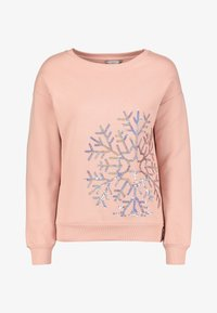Next - LET IT SNOW CHRISTMAS - Sweatshirt - mottled pink