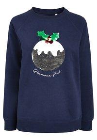 Next - CHRISTMAS PUDDING - Sweatshirt - blue - 4