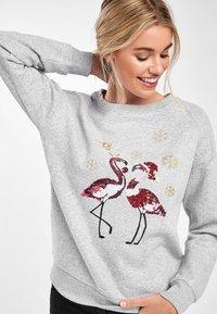 Next - CHRISTMAS  - Sweatshirt - grey - 2