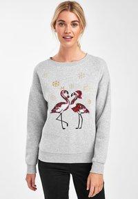 Next - CHRISTMAS  - Sweatshirt - grey - 0