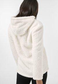 Next - HONEY BORG SNUGGLE HOODY - Fleece jumper - off-white - 1