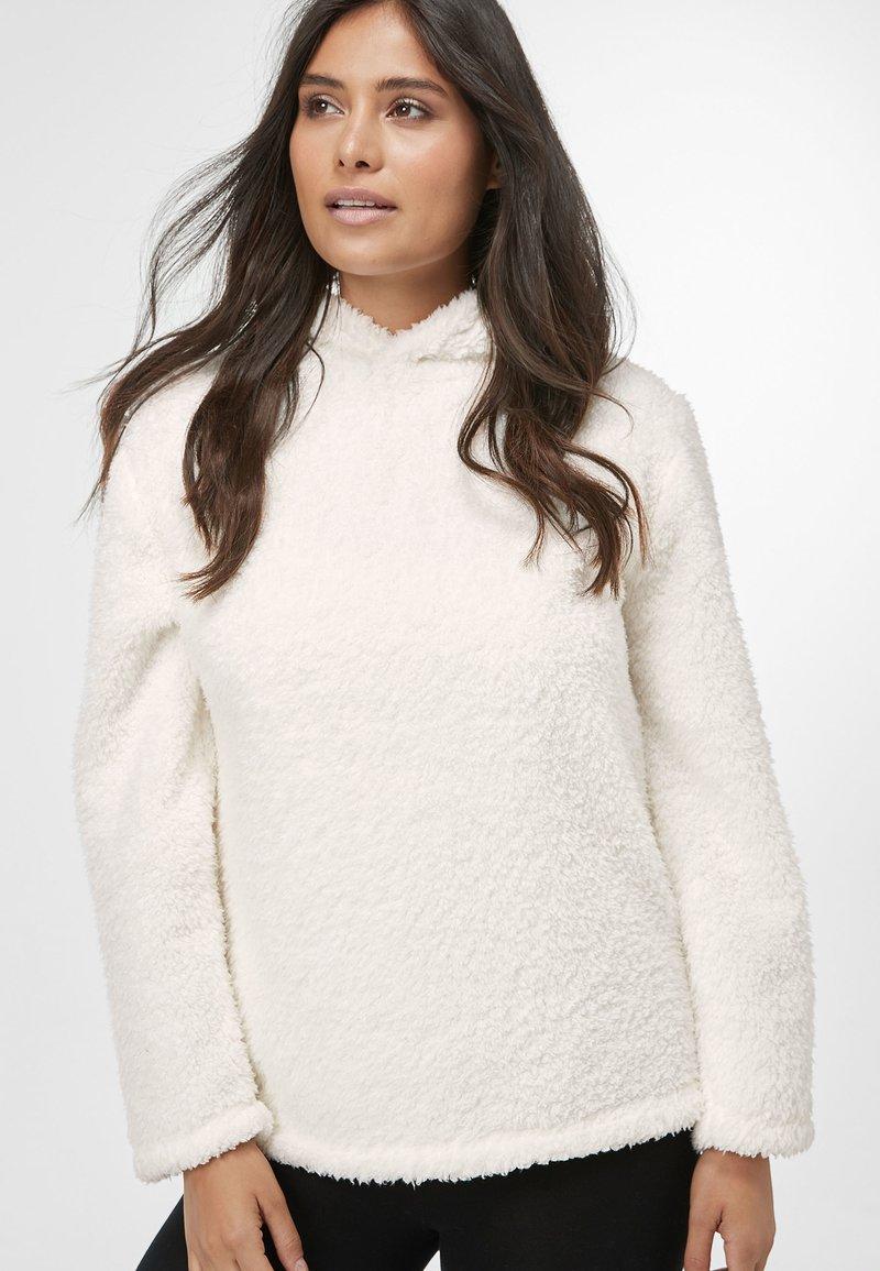 Next - HONEY BORG SNUGGLE HOODY - Fleece jumper - off-white
