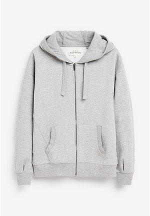 Hoodie met rits - grey