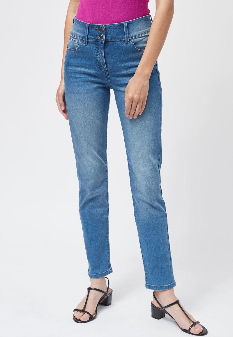 Next - Slim fit -farkut - light blue
