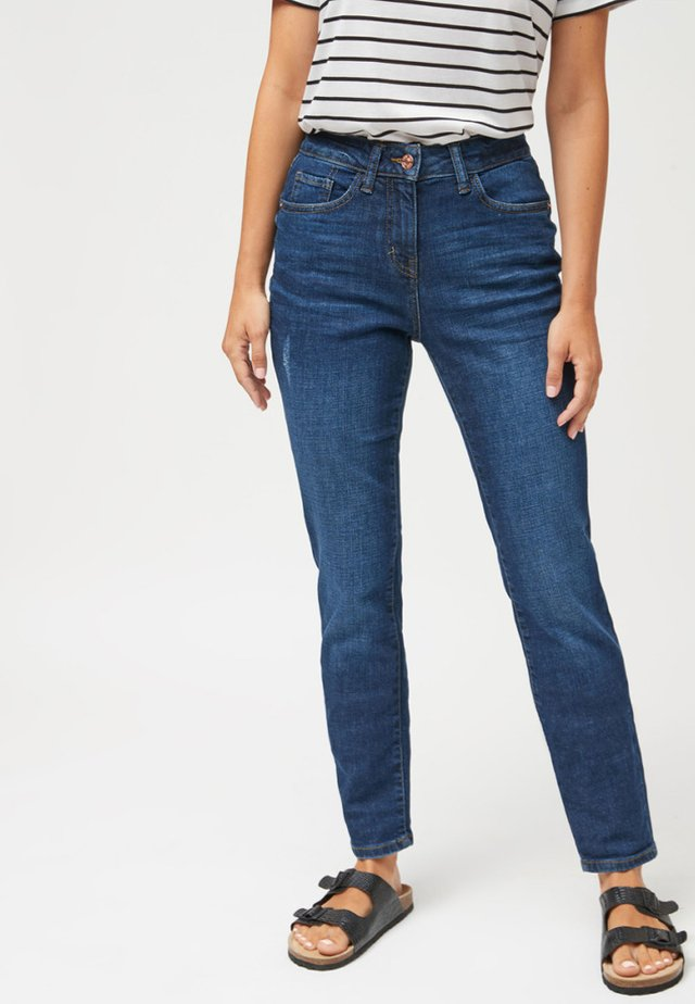 RELAXED SKINNY JEANS - Jeansy Slim Fit - blue