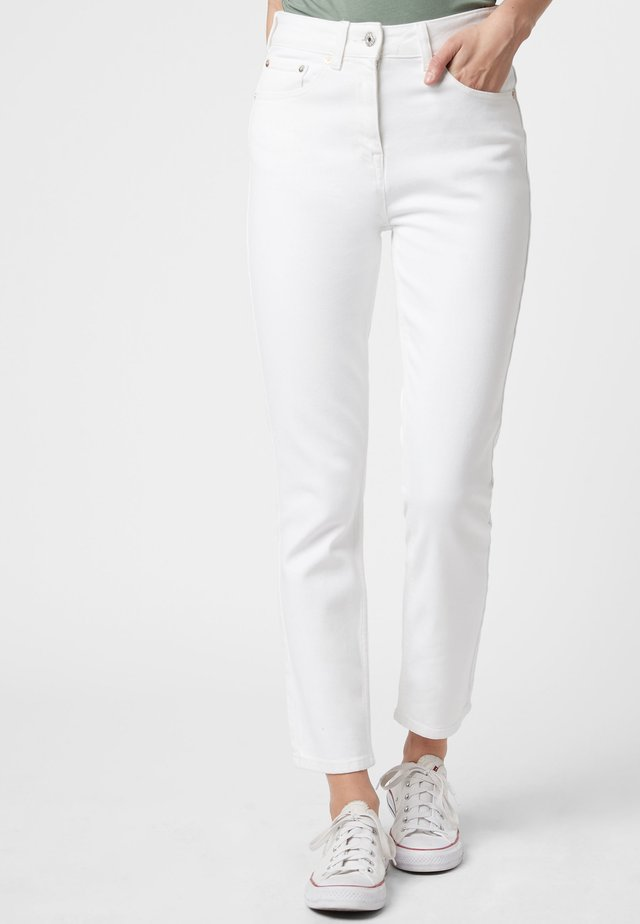 HIGH RISE  - Slim fit jeans - white