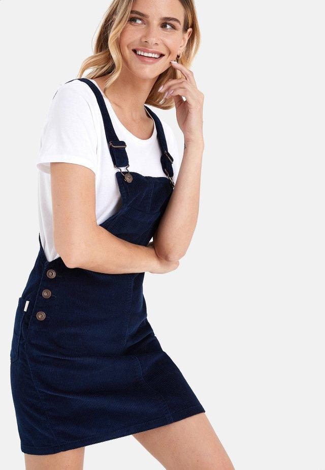 BLACK CORD PINNY DRESS - Vestido informal - blue